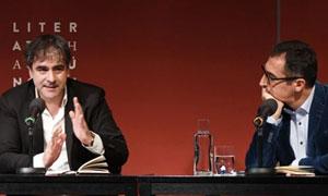 Deniz Yucel and Cem Ozdemir read 'Morgengrauen' by Demirtas