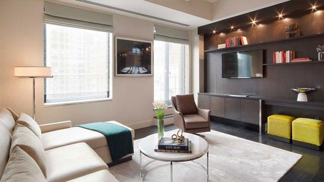 The Marmara Hotel boasts 128 suites