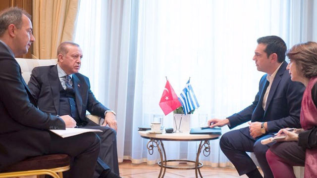 Greek PM visits President Erdogan for bilateral concerns